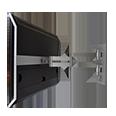 halterungen zubeh r beoplay v1 40. Black Bedroom Furniture Sets. Home Design Ideas