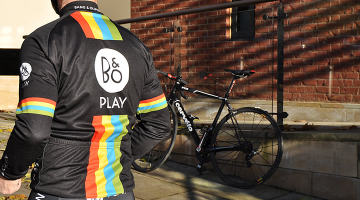 Bang & Olufsen Cycling Long Sleeve Jersey